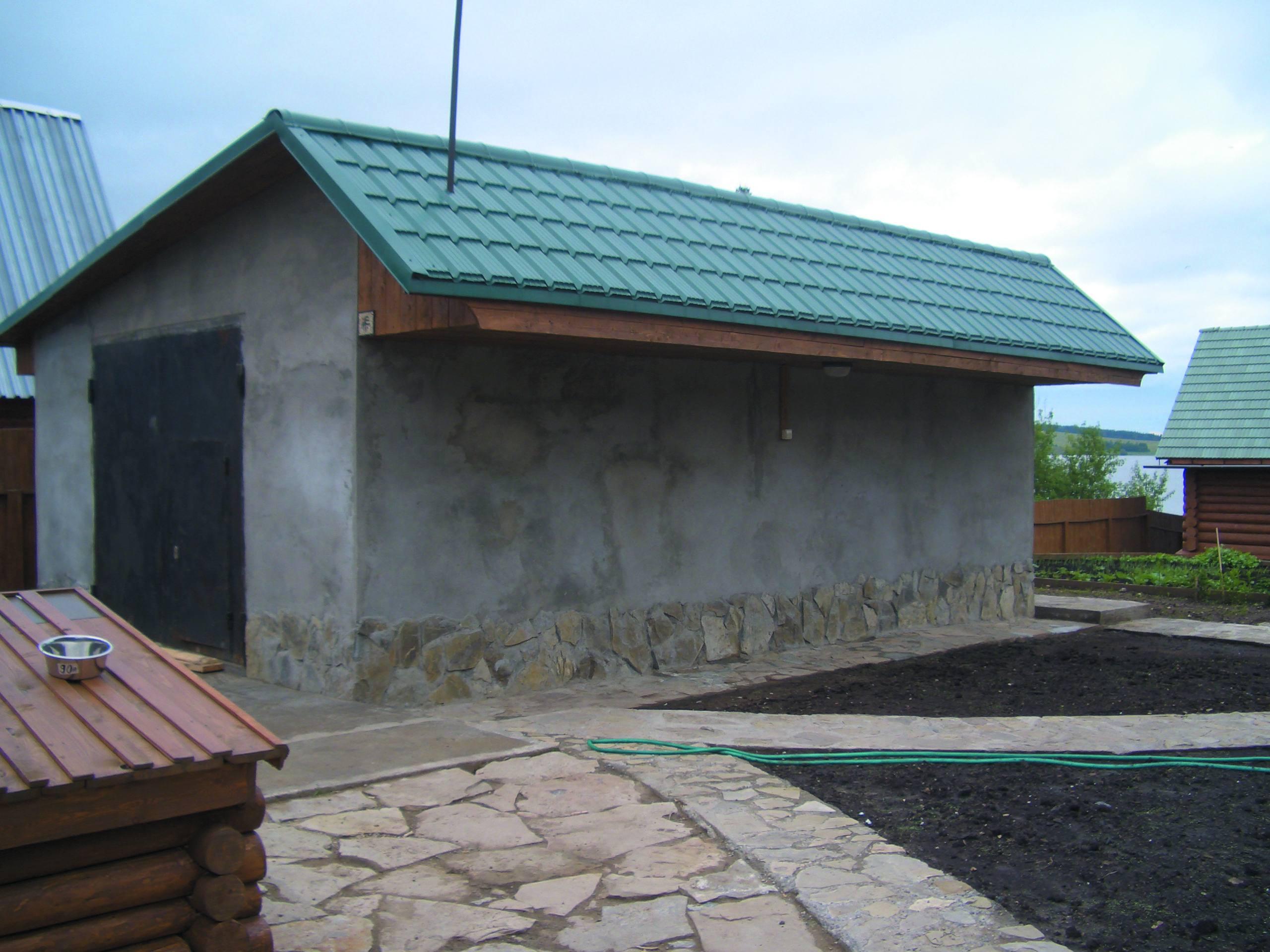 Односкатная крыша для гаража: как сделать односкатку своими 10